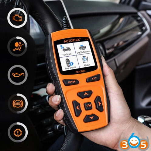 How To Update Autophix 7710 Ford Multi Function Scanner