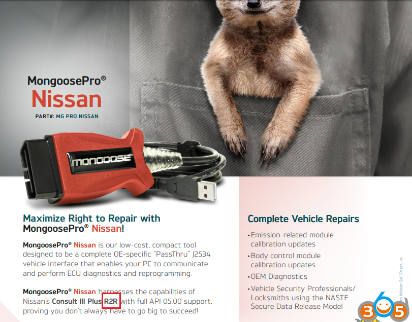 SAE J2534 device can be used as Nissan Consult 3 Plus? | OBDII365