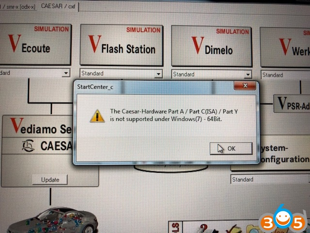 vediamo-caesar-hardware-not-supported