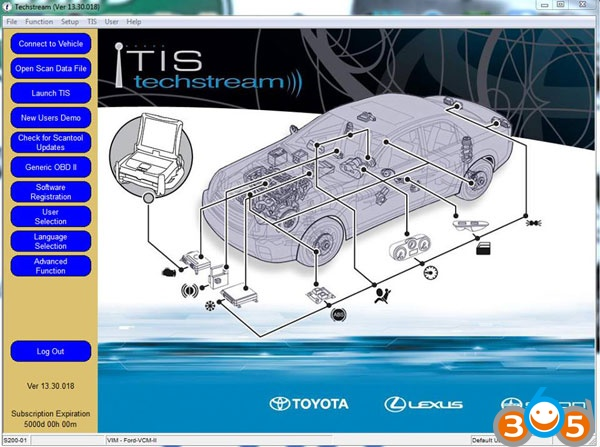 Toyota Techstream 13 30 018 Download FREE + Released Notes