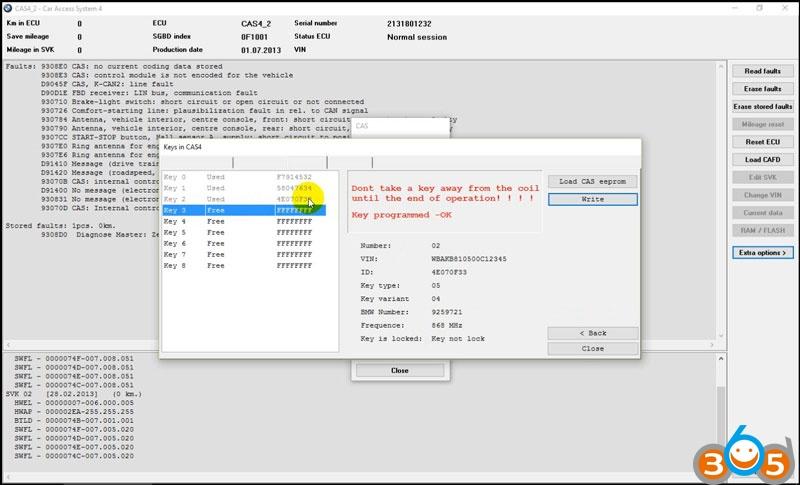 bmw-explorer-write-key-cas4-8