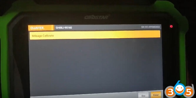 obdstar-x300-dp-plus-Maserati-odometer-7