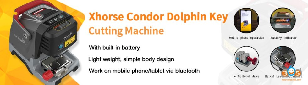 Xhorse-Condor-Dolphin-Key-Cutting-Machine