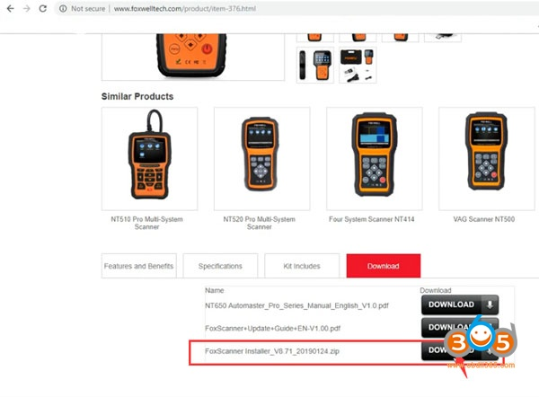 How to Register and Update Foxwell NT650 AutoMaster OBD2