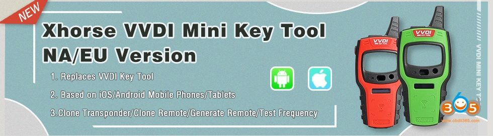 Xhorse-VVDI-Mini-Key-Tool