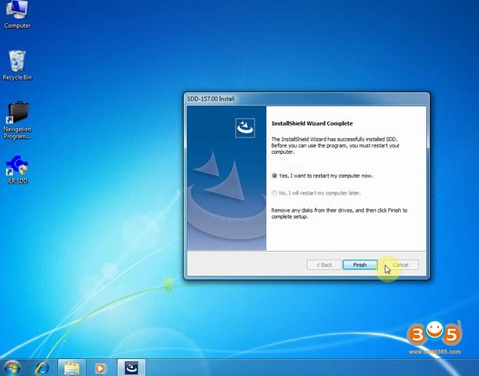 How to install SVCI JLR DoIP SDD V157 on Win7 Win8 Win10