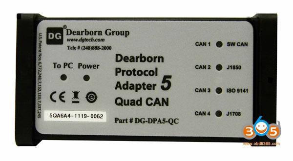 DGTech DPA5