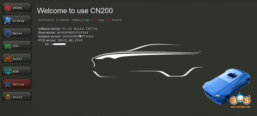 logiciel cn200-27