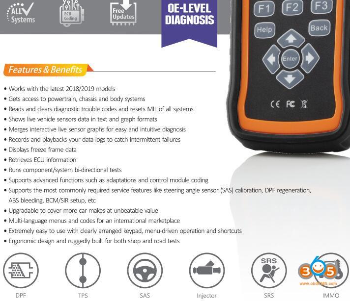 Foxwell NT530 Vs. NT520 Pro Multi-System Scanner
