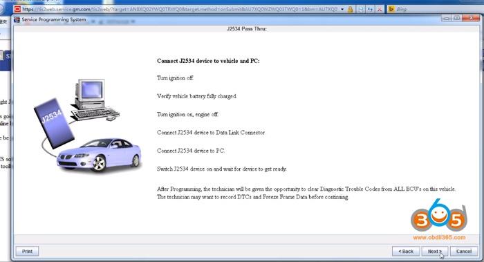Gm Online Programming 3
