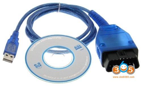 Obdii Kkl 409.1 Cable
