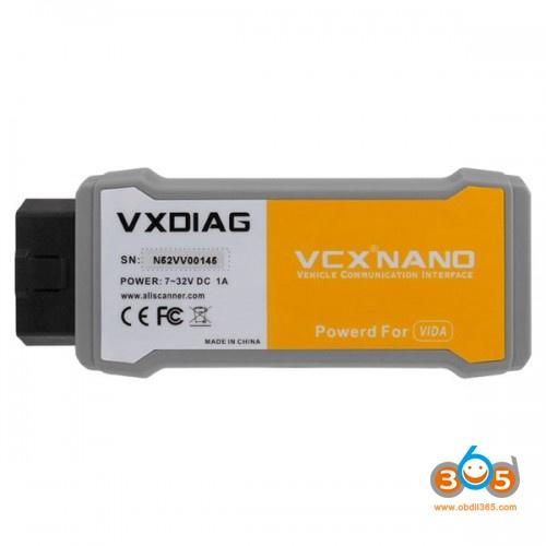 Vxdiag Vcx Nano Volvo Vida 2014a