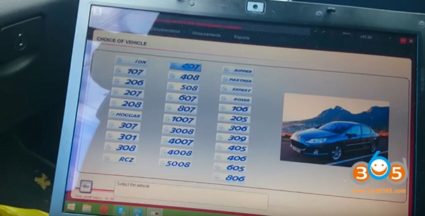 Lexia3 Diagbox Peugeot 407 Diagnosis 1
