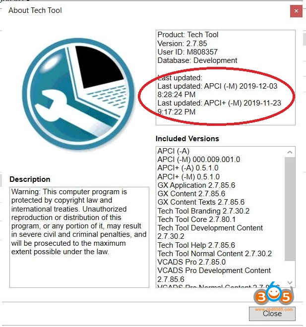 Volvo Tech Tool 2.7.85 Update 1