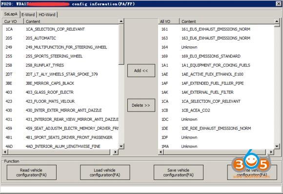 Vvdi Bmw Tool Vehicle Configuration