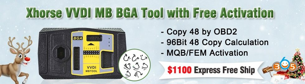 980 280 Xhorse VVDI MB BGA Tool With Free Activation
