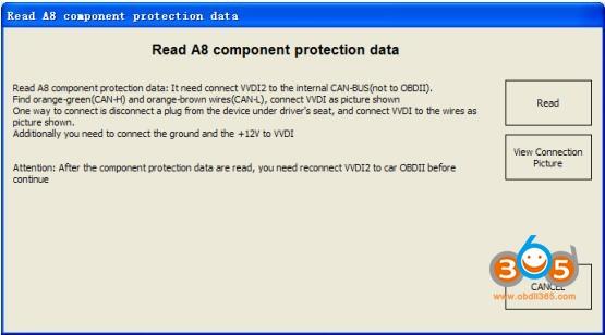 Vvdi2 Audi Component Protection 1