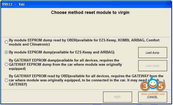 Vvdi2 Audi Component Protection 6