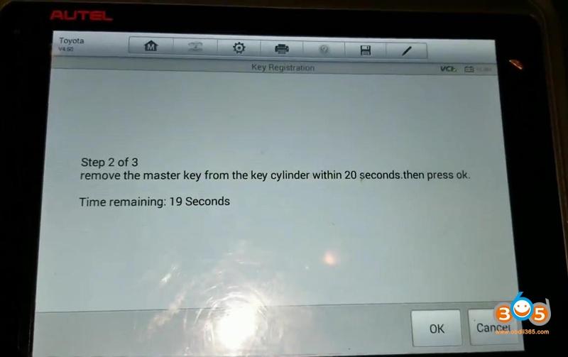Autel Ms906bt Program Toyota G Chip Key 10