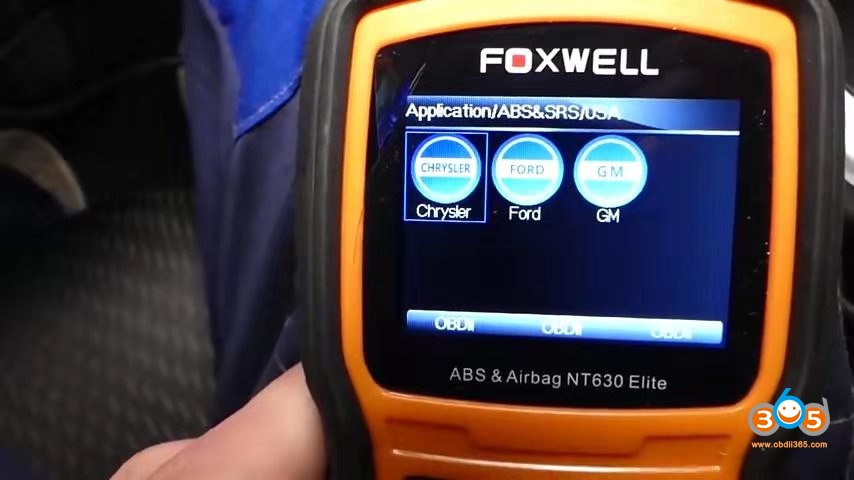 Foxwell Chrysler Abs Bleeding 2