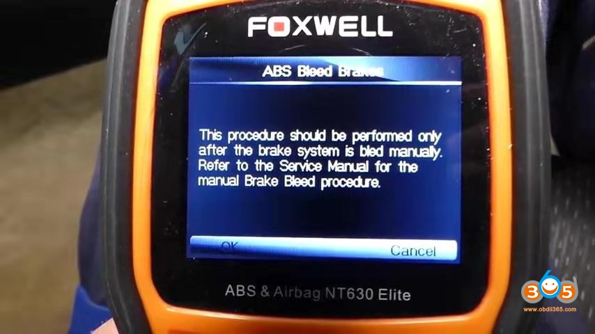 Foxwell Chrysler Abs Bleeding 5