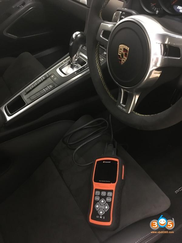 Foxwell Nt530 Porsche 911 Airbag Light Reset 03