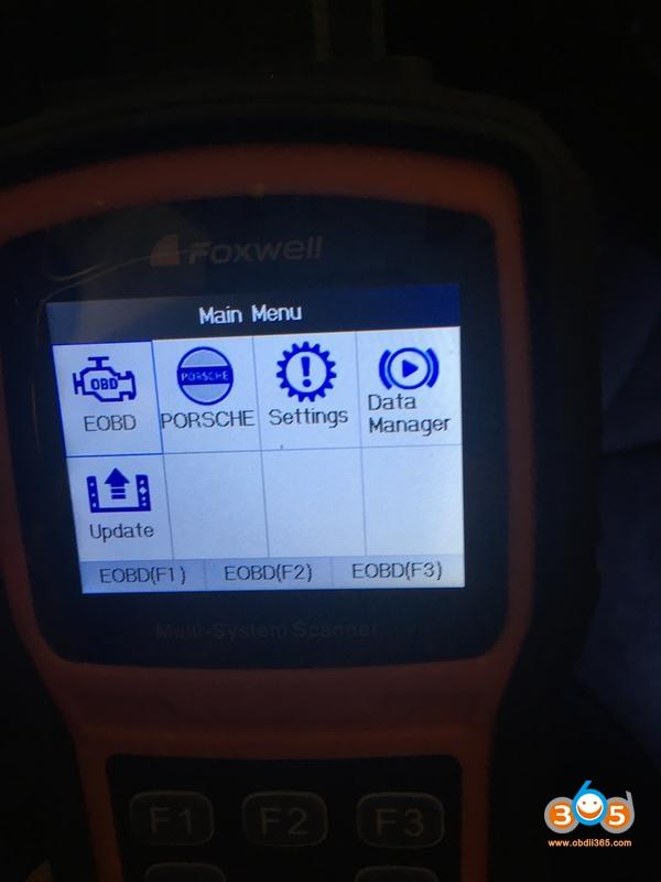 Foxwell Nt530 Porsche 911 Airbag Light Reset 04