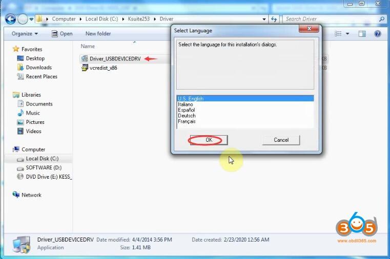 Install Kess V2 V253 Software 5
