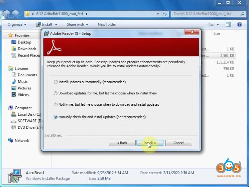 Install Xprog V612 Software 3