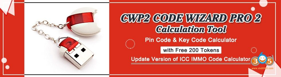 980 280 CWP2 CODE WIZARD PRO 2 Calculation Tool