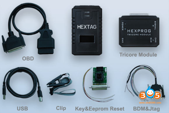 HexTag Programmer With Power Module 139 580