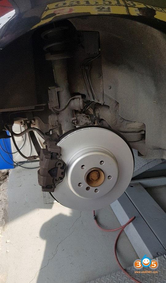 Autel Maxicheck Bmw 730 Brake Pad 6