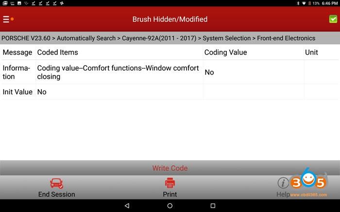 Comfort Entry Windows Up Down Via Keyfob Coding 03