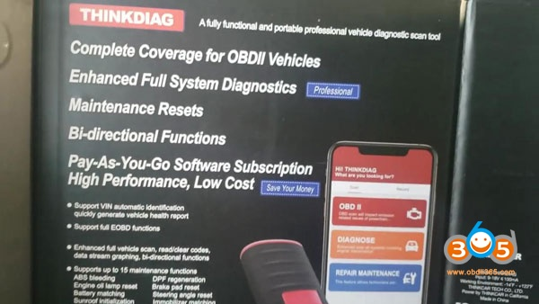 Launch Thinkdiag Chevrolet 2010 Diagnosis 001
