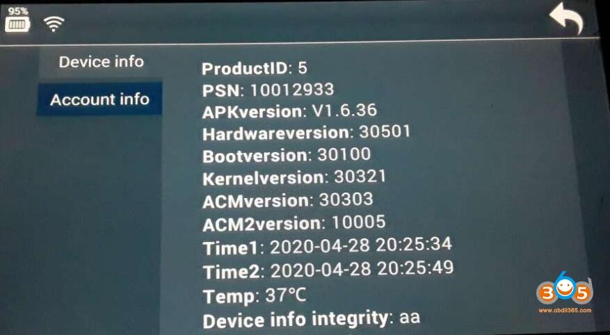 Lonsdor K518ise Failed To Obtain Data Solution 04