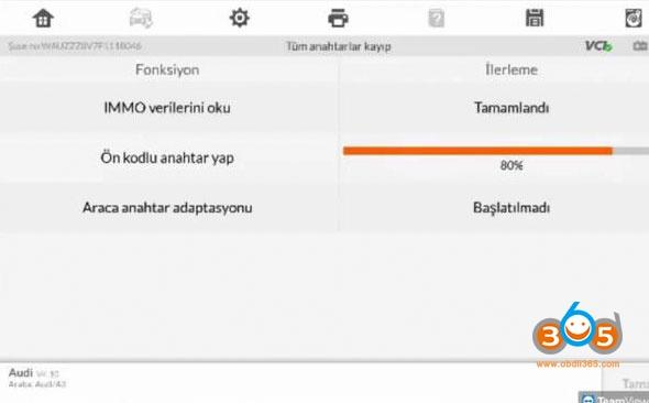 Autel Im608 Mqb All Keys Lost Programming 17