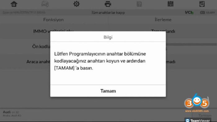 Autel Im608 Mqb All Keys Lost Programming 18
