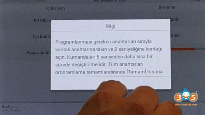 Autel Im608 Mqb All Keys Lost Programming 26