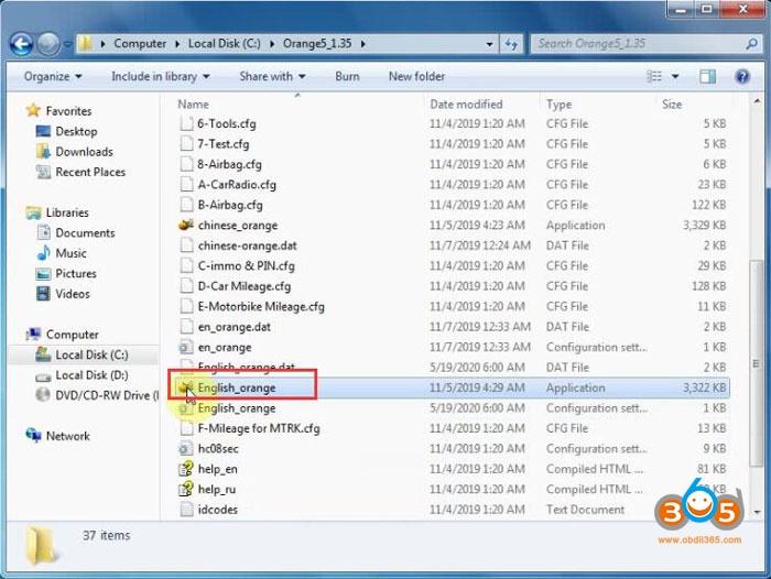 Install Orange5 Plus V135 Software 9