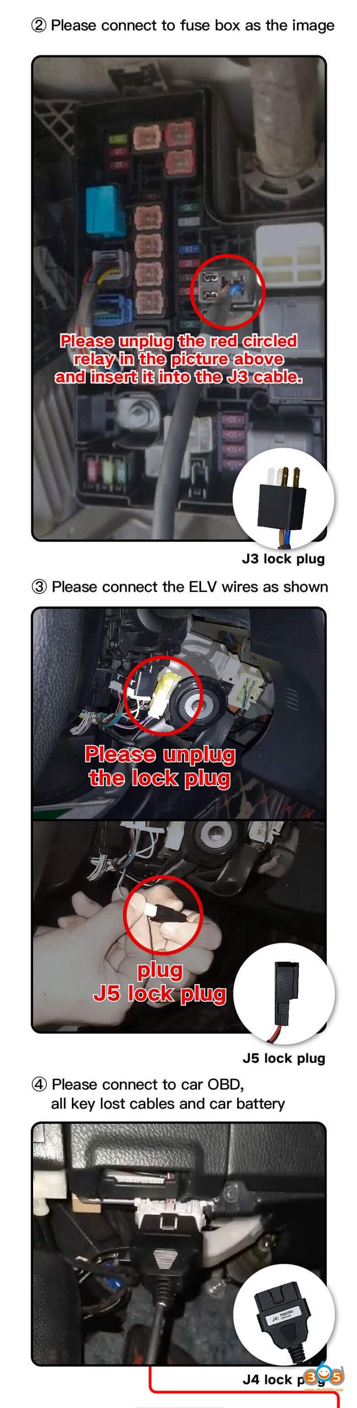 Toyota Rav4 8A All Keys Lost
