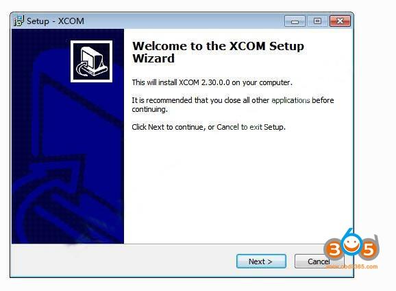 How To Install Scania XCOM V2.30 Software 2