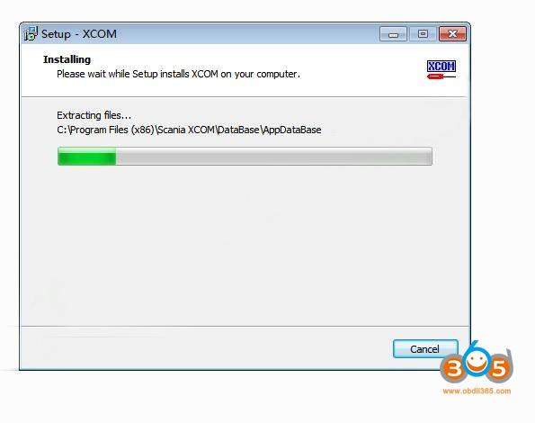 How To Install Scania XCOM V2.30 Software 5