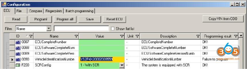 How To Use Scania XCOM To Program E2 Parameter Configuration Values 5