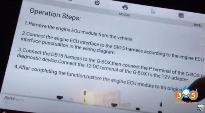 Autel Im608 Bmw Used Ecu Msd80 Replacement 3