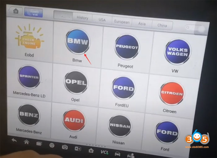 Autel Solved Bmw Aoaa Fault By Elv Reset 3
