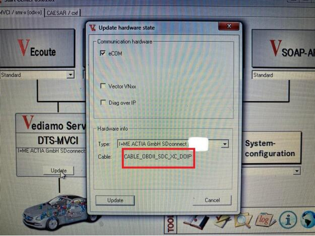 Convert Sd C4 Obdii To Doip Cable 12