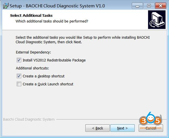 Install Baochi Cloud Diagnostic System 04
