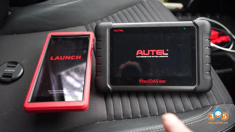 Launch X431 Pros Mini Diagnose Toyota Yaris 2012 01