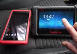 Launch X431 Pros Mini Diagnose Toyota Yaris 2012 05