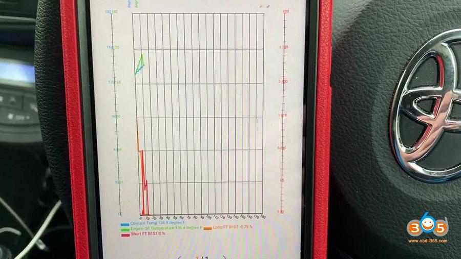 Launch X431 Pros Mini Diagnose Toyota Yaris 2012 29